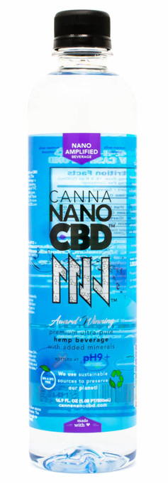 CannaNano CBD Water