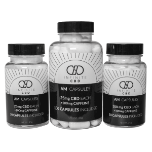 Infinite AM Capsules - CBD & Caffeine Pills