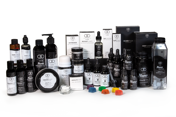 Infinite CBD Product Lineup