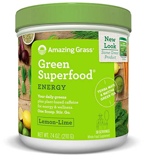 Green Superfood Energy With Yerba Mate