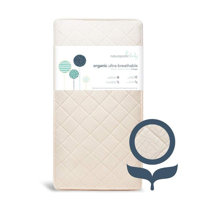 Naturepedic Organic Crib Mattress For Sale