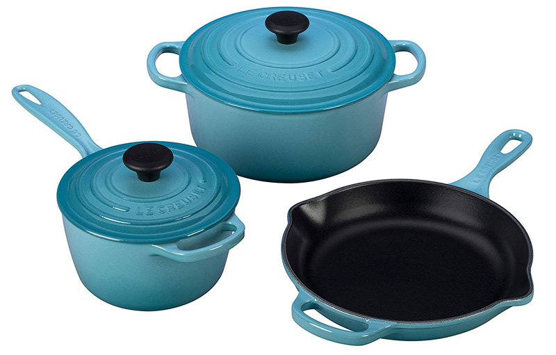 Le Creuset Cookware Set For Sale