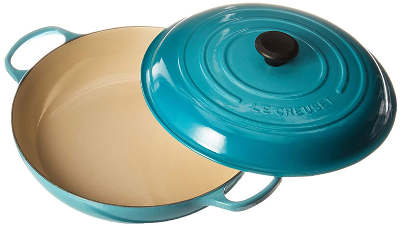 le creuset signature enameled cast iron