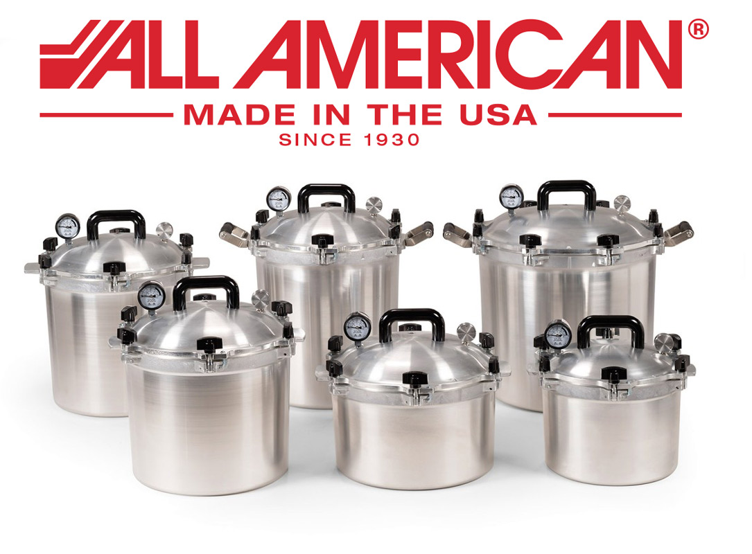All American Pressure Canner Cookers