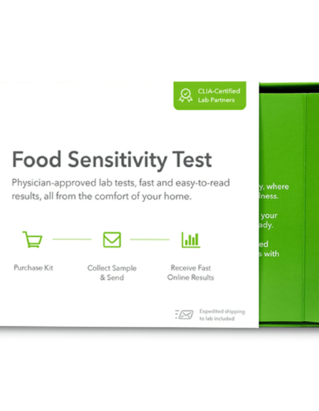 EverlyWell Food Sensitivity Test Home Kit