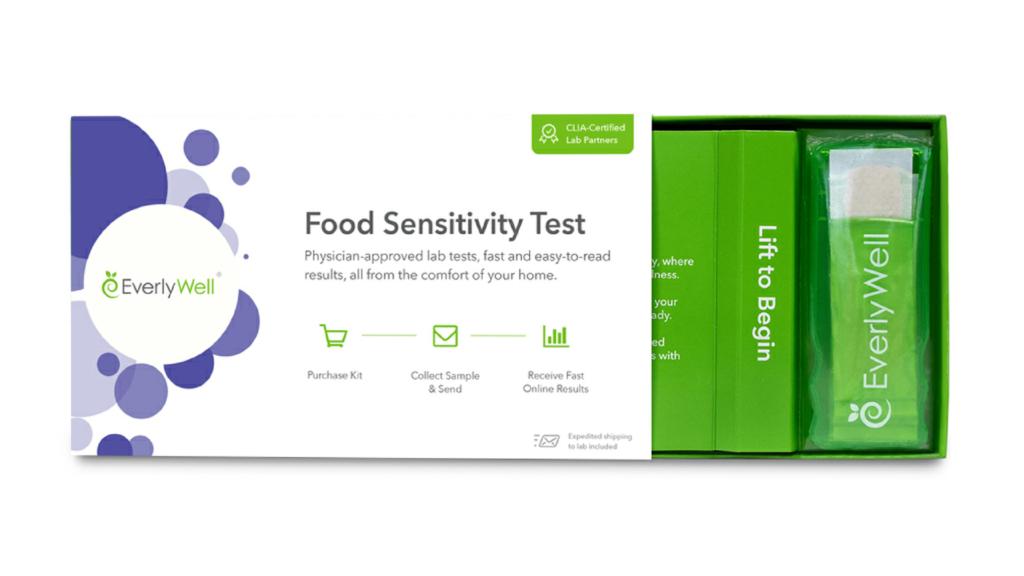 EverlyWell Food Sensitivity Test Home Kit