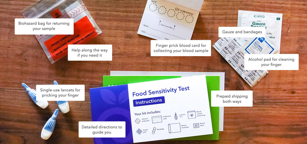 what is the best at home food sensitivity test