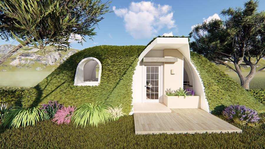 green tiny homes