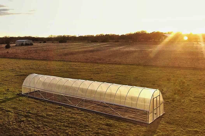 metal greenhouse kit