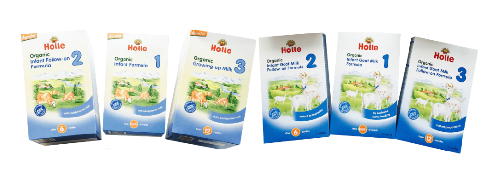 Holle Baby Formula Stages