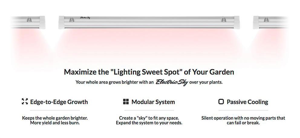 wideband uv light for plants