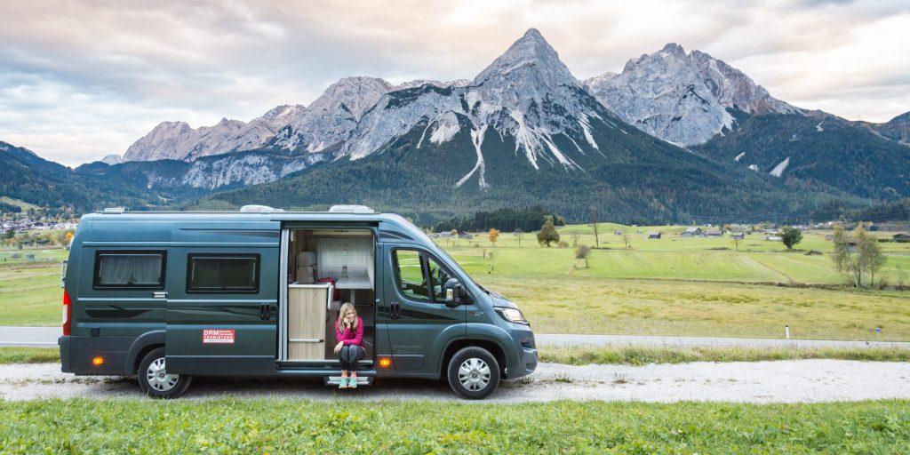 custom vans to live in