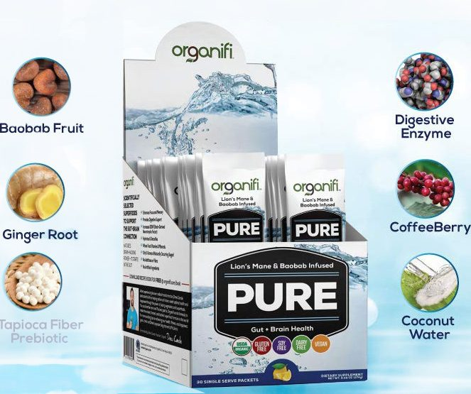Organifi Pure Superfood To Combat Brain Fog