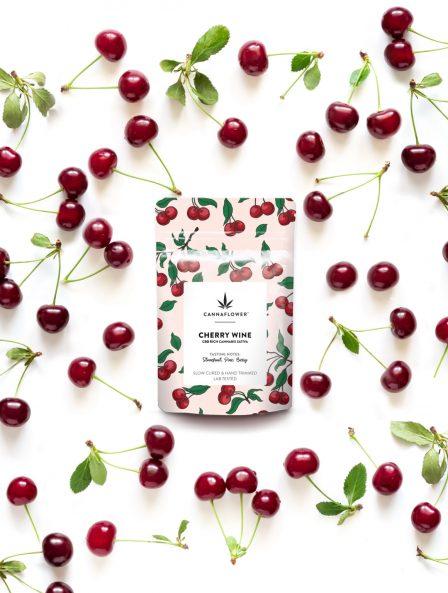 Cherry Wine CBD Strain by Cannaflower