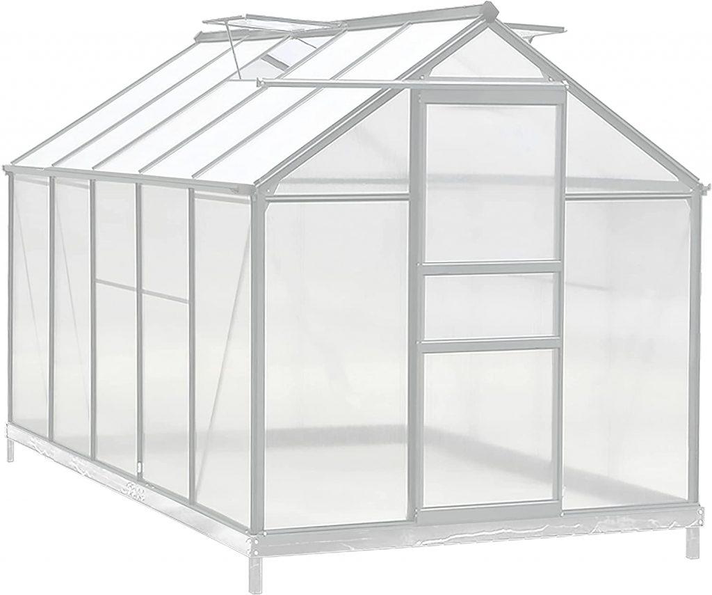 Aluminum Greenhouse kit for sale