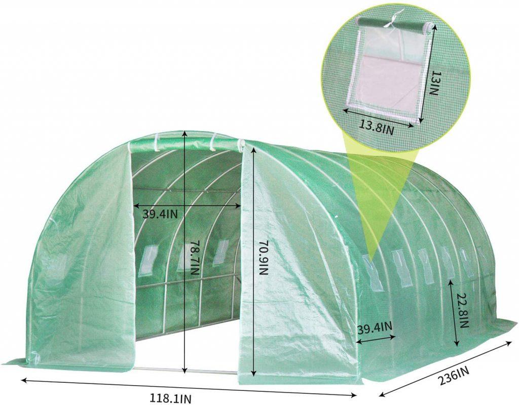 tunnel greenhouse kit